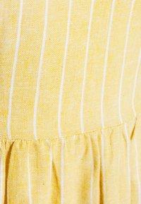 ONLY - ONLVIVIAN CANYON LONG LIFE DRESS - Kjole - golden spice/cloud dancer - 2