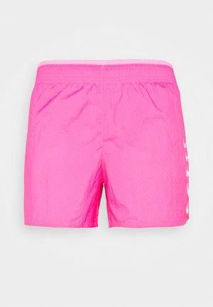 RUN SHORT - kurze Sporthose - pink glow/white