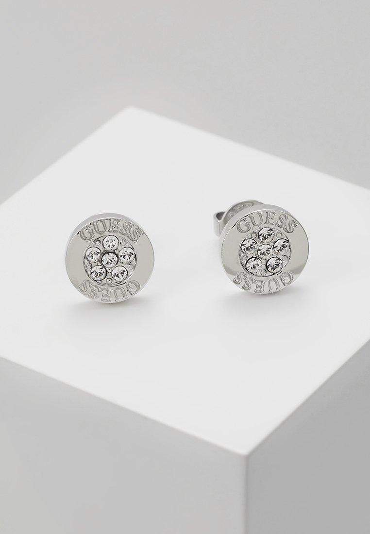 Guess - LOVE KNOT - Earrings - silver-coloured