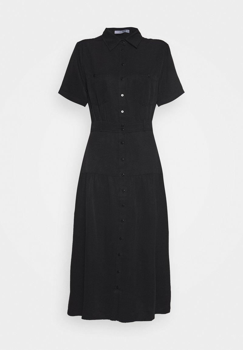 Third Form - LE MODE MIDI DRESS - Shirt dress - black