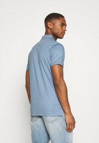 Tommy Hilfiger - INTERLOCK ZIP SLIM  - Polo shirt - colorado indigo - 2