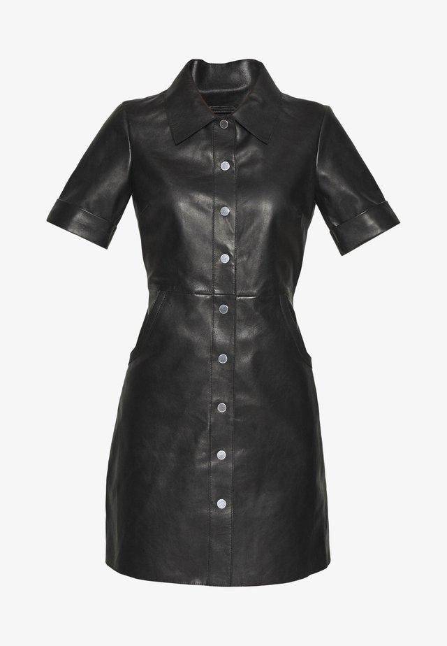 Skjortekjole - noir