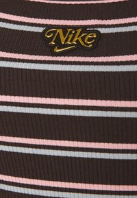 Nike Sportswear - FEMME DRESS  - Maxi dress - baroque brown/metallic gold - 5