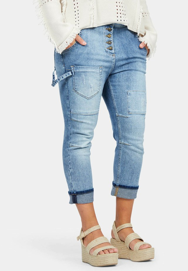 CALETA - Relaxed fit jeans - denim blue