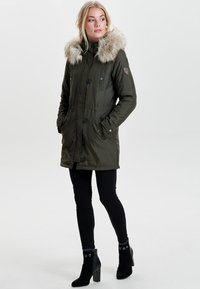 ONLY - Parka - peat - 1
