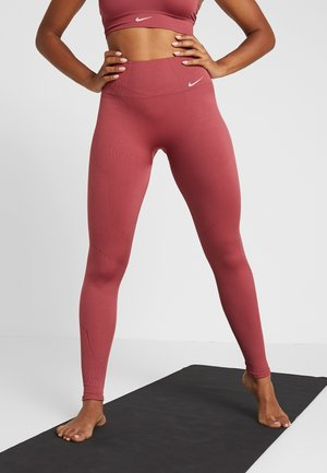 STUDIO - Leggings - cedar/white
