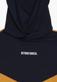 Friboo - Print T-shirt - black iris/yellow - 3