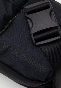 Peak Performance - BUM BAG - Bum bag - black - 4
