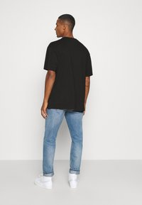 Weekday - OVERSIZED - T-shirt basic - black - 2
