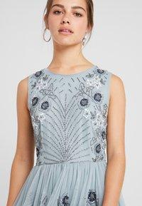 Lace & Beads Petite - NARA SKATER - Koktejlové šaty/ šaty na párty - teal - 3