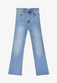 Stradivarius - Jeans a zampa - light blue - 4