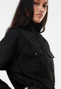 Bershka - Light jacket - black - 3