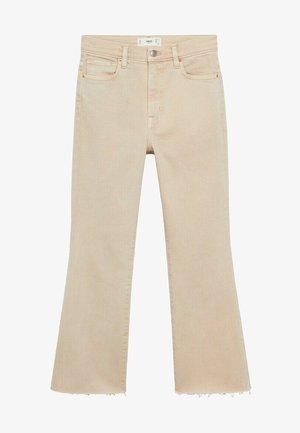 SIENINA - Flared Jeans - open beige