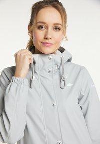 Schmuddelwedda - Waterproof jacket - hellgrau - 3