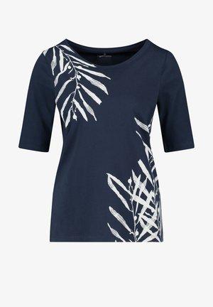 T-shirt con stampa - azur
