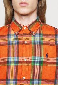 Polo Ralph Lauren - PLAID - Shirt - orange/blue - 4
