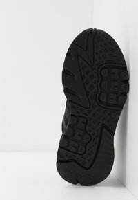 adidas Originals - NITE JOGGER - Matalavartiset tennarit - core black/carbon - 4