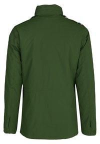 K-Way - MARMOTTA - Outdoor jacket - green dk forest-blue depht - 3