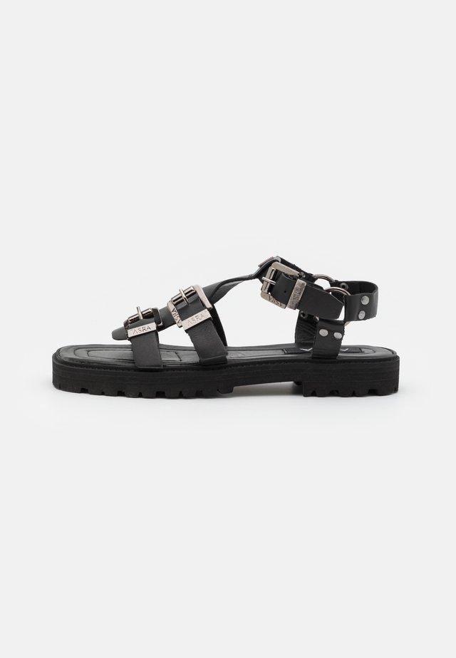SPECTOR - Sandals - black