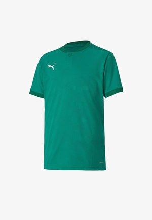 Print T-shirt - gruen
