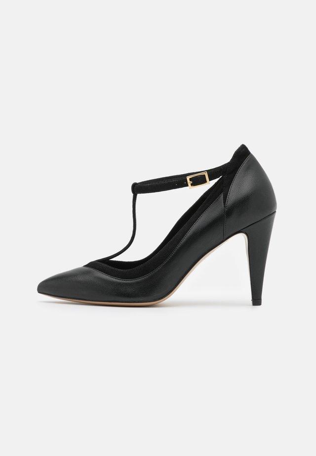 Lodičky na vysokém podpatku - noir