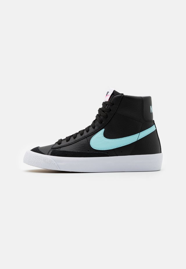 BLAZER MID '77 UNISEX - High-top trainers - black/glacier ice/white/pink glow
