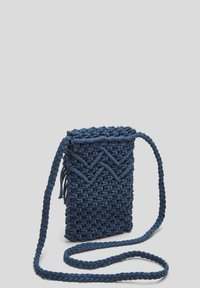 s.Oliver - IN MAKRAMEE OPTIK - Across body bag - dark blue - 4