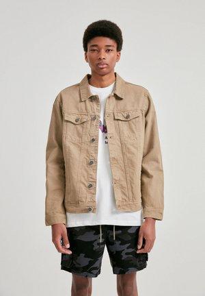 Džínová bunda - mottled brown