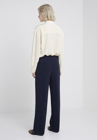 Filippa K - HUTTON TROUSERS - Trousers - navy - 2