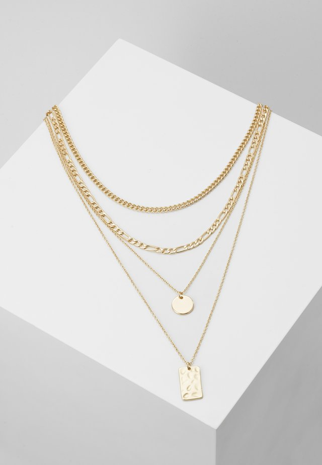 PCOKIA COMBI NECKLACE - Ketting - gold-coloured