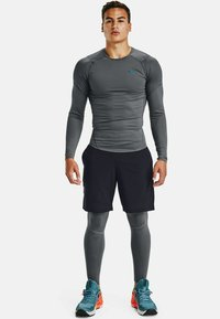 Under Armour - Long sleeved top - pitch gray - 0
