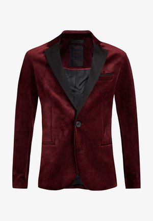 Blazer jacket - burgundy red