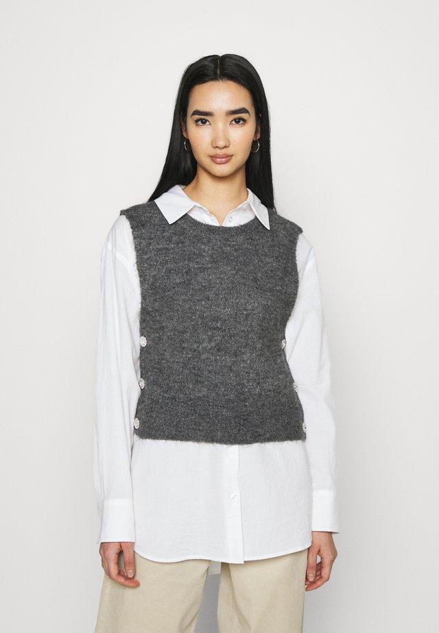 YASLINE - Jersey de punto - dark grey melange