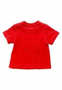 Kanz - Print T-shirt - dark red - 1
