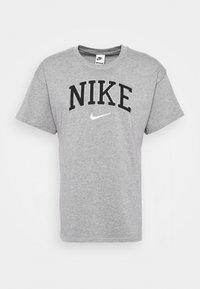 RETRO TEE - T-shirt z nadrukiem - grey heather