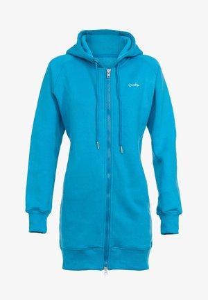 veste en sweat zippée - sky blue