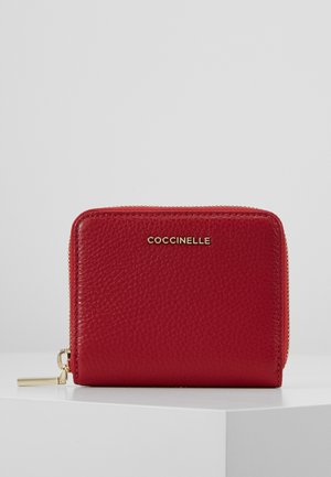 SOFT ZIP AROUND - Wallet - cherry