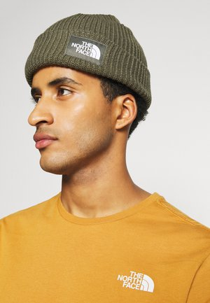 SALTY DOG BEANIE - Mössa - new taupe green