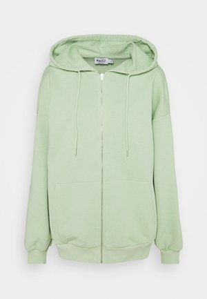 NA-KD X ZALANDO EXCLUSIVE ZIP HOODIE - Sweatjacke - fresh green