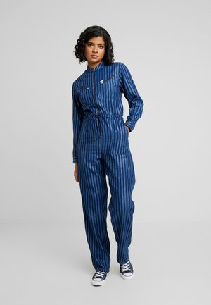 Overall / Jumpsuit /Buksedragter - washed blue