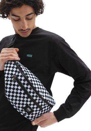 UA WARD CROSS BODY PACK - Bum bag - black/white check