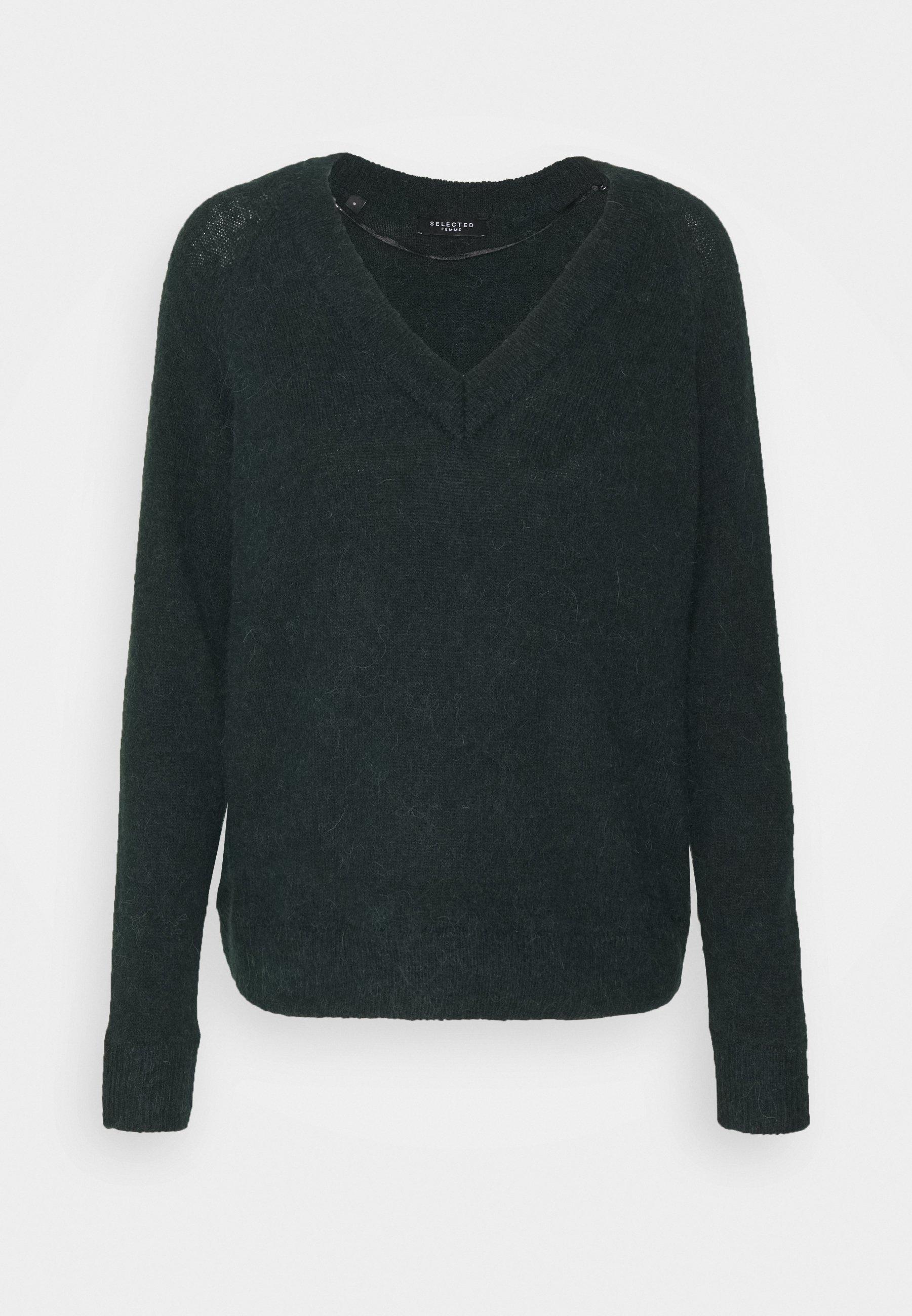 Femme SLFLULU V NECK  - Pullover