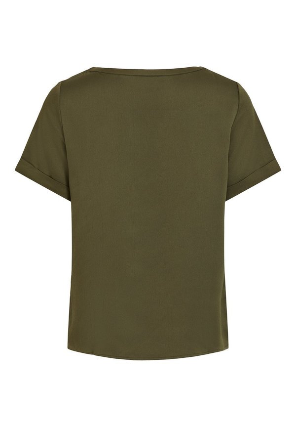 Vila T-shirt basic - forest night Odzież Damska JZVJ PP 1