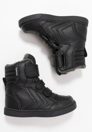 STADIL SUPER TUMBLED  - Høye joggesko - black