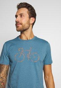 Vaude - ME CYCLIST  - T-Shirt print - blue gray - 3