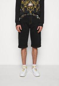 Versace Jeans Couture - COAL LAVEA  - Shorts - black - 0