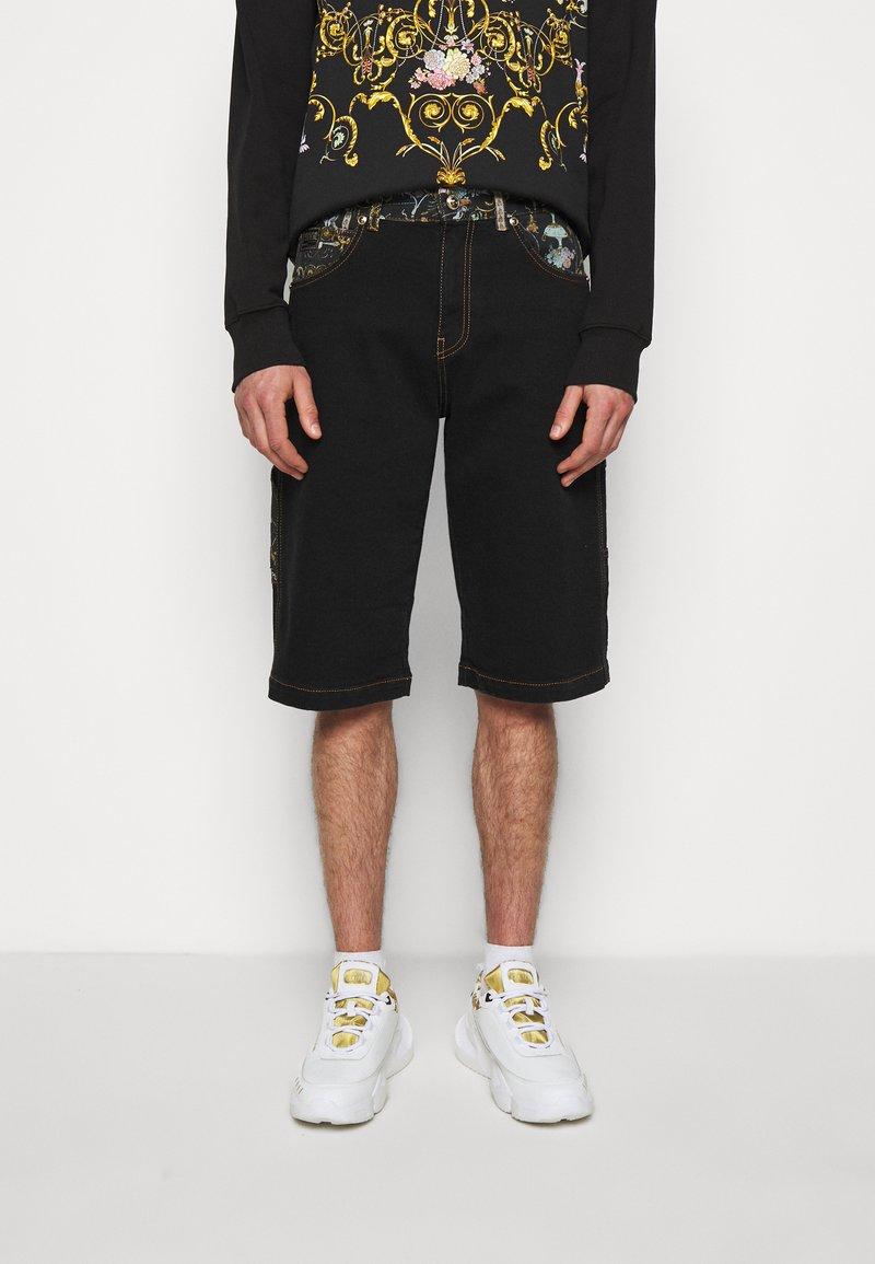 Versace Jeans Couture - COAL LAVEA  - Shorts - black