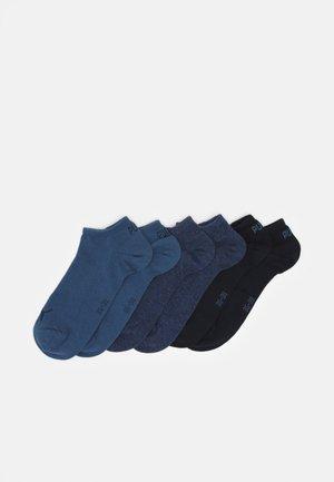 SNEAKER PLAIN 6 PACK UNISEX - Calcetines de deporte - blue combo