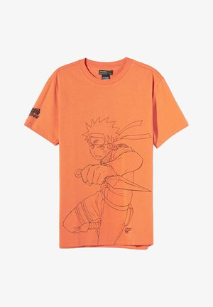 NARUTO - T-shirt con stampa - orange