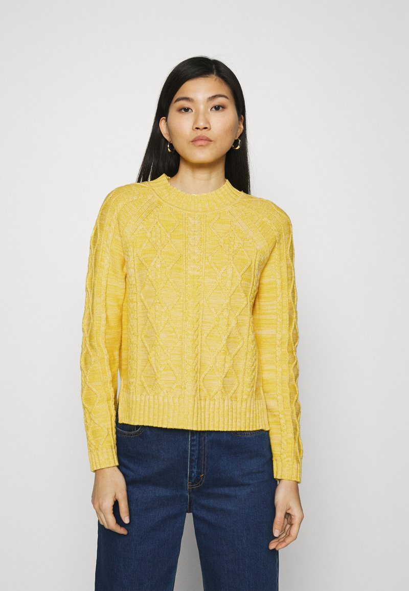 GAP - CABLE CREW - Jumper - misted yellow